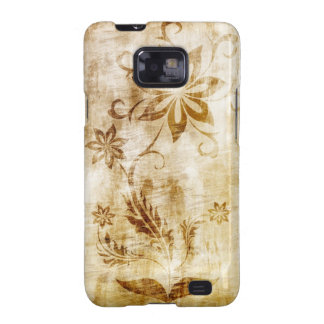 Flower antique decor samsung galaxy SII covers