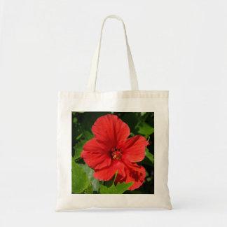 FLOWER APRON BUDGET TOTE BAG