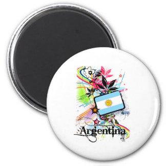Flower Argentina Magnet