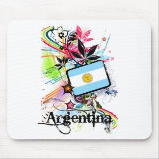 Flower Argentina Mouse Mat