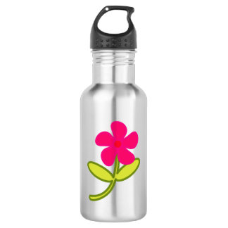Flower Art 532 Ml Water Bottle