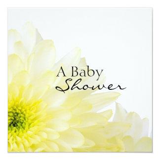 Flower-Baby Shower Card