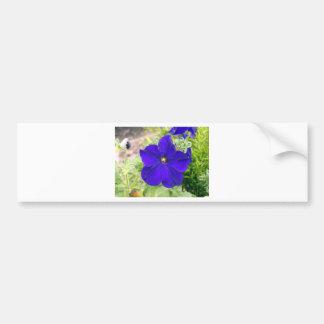 flower bag bumper sticker