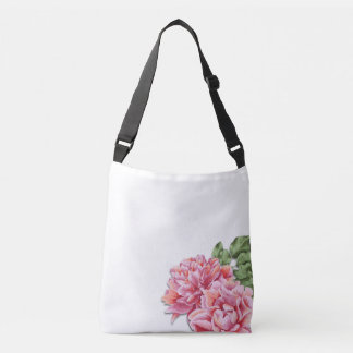 Flower Bag, Peony Bag, Bridesmaid Gift Crossbody Bag