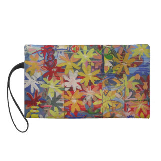 Flower Bag Wristlet
