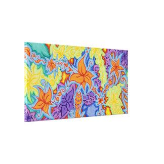 Flower Banner Canvas Print