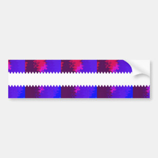 Flower based textures n patterns on Giveaway GIFTS Car Bumper Sticker