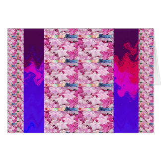 Flower based textures n patterns on Giveaway GIFTS Cards