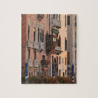flower baskets and ornate Palace details, Italy Jigsaw Puzzle