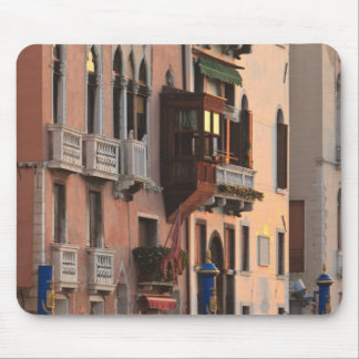 flower baskets and ornate Palace details, Italy Mouse Mat