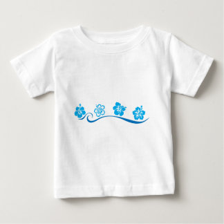 Flower Beach Baby T-Shirt