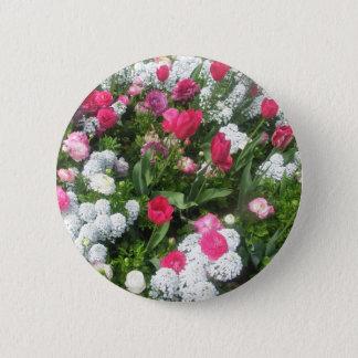 Flower Bed 6 Cm Round Badge