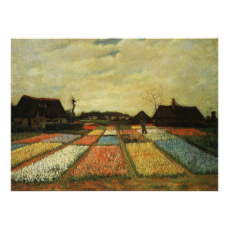 Flower Beds in Holland Posters