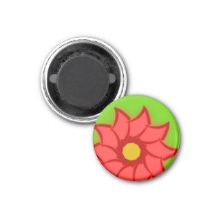 Flower bloom more flower bloom fridge magnet