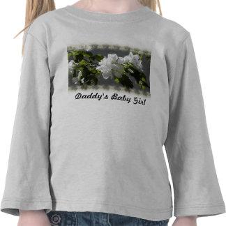 flower blossom Daddy s Baby Girl T Shirt
