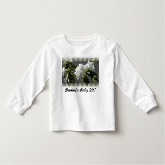 flower blossom, Daddy's Baby Girl Tshirt