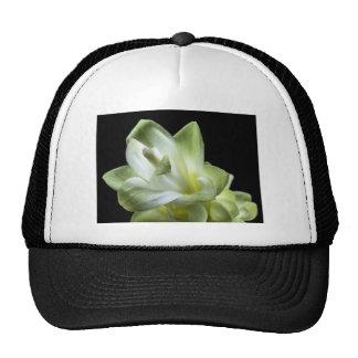 flower blossoms white Love Kiss Make Up Mesh Hat