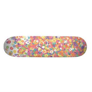 Flower Boarder Skateboard Deck