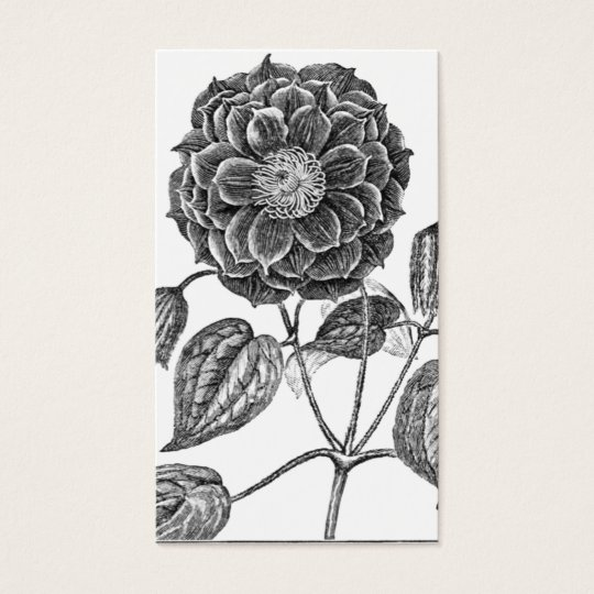 Flower Botanical Business Card