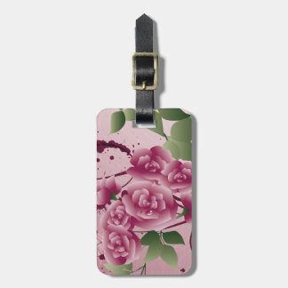 Flower Bouqet Luggage Tag