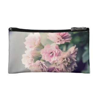 Flower bouquet cosmetic bag