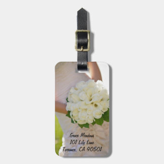 Flower Bouquet Luggage Tag