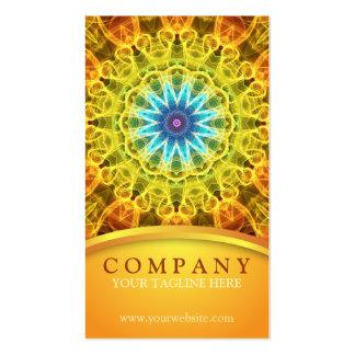Flower Bouquet Mandala Pack Of Standard Business Cards