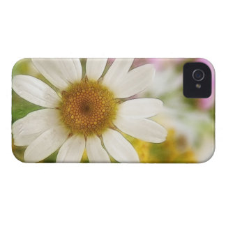 Flower Bouquet - White Daisy iPhone 4 Case