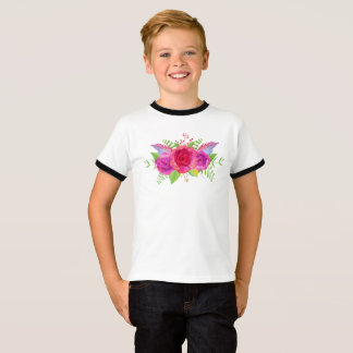 Flower Boy Design T-Shirt