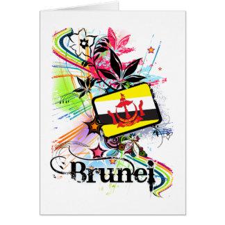 Flower Brunei Card