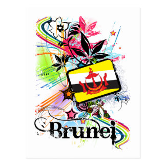 Flower Brunei Postcard