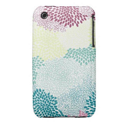"""Flower Burst"" Rainbow of Colors iPhone 3 Cases"