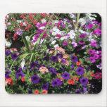 flower bushes mousepads