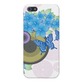 Flower Butterfly Cover For iPhone 5/5S