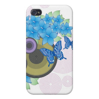 Flower Butterfly iPhone 4/4S Case