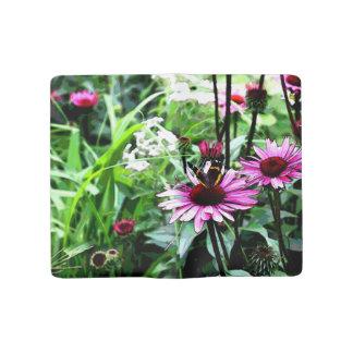 Flower/butterfly jornal large moleskine notebook