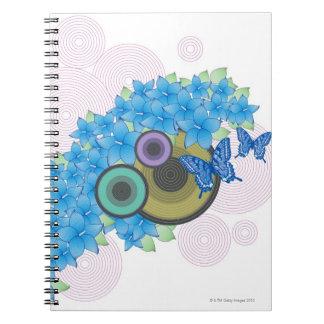 Flower Butterfly Notebooks
