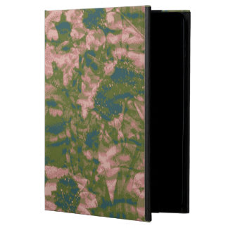 Flower camouflage pattern iPad air case