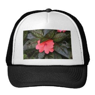 flower trucker hat