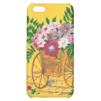 Flower Cart Case For iPhone 5C