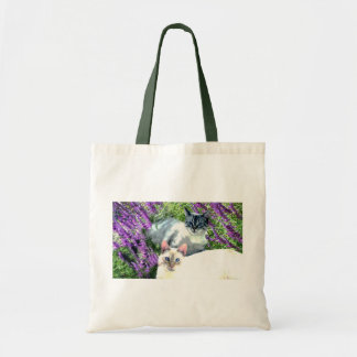Flower Cats Tote