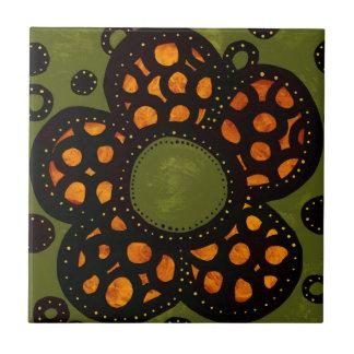 Flower Ceramic Tile