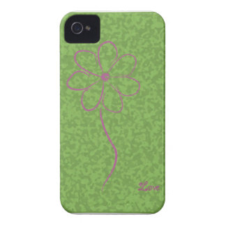 Flower-challenge iPhone 4 Case-Mate Case