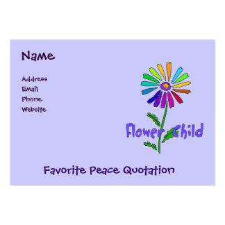 Flower Child Business Card Template
