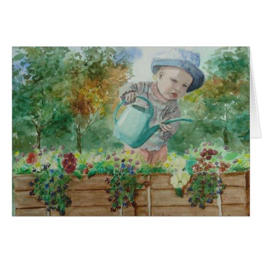 Flower Child Card - Customised