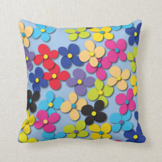 Flower Child Hippie Trippy Peace Fine Floral Cushions