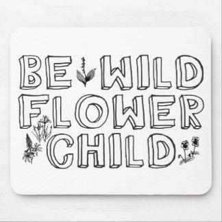 Flower Child Mousepads