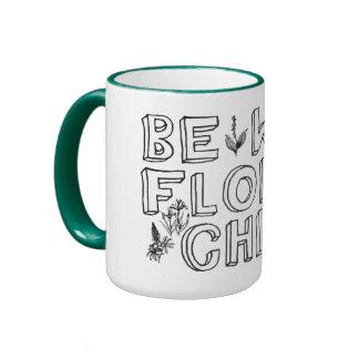 Flower Child Ringer Mug