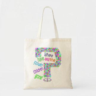 Flower Children Budget Tote Bag