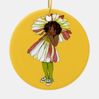 Flower children - Daisy Christmas Ornament